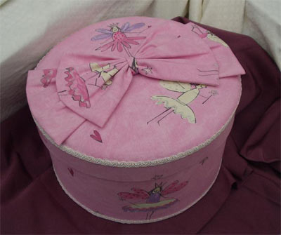 "Harlequin ""Airy Fairy"" pink fabric"
