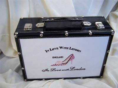 In Love With London Suitcase - large size